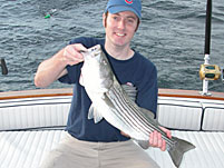 Cape Cod Bay Bass Sport Fishing