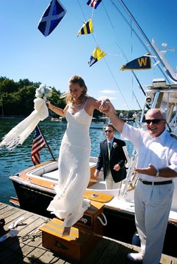 Massachusetts Wedding Cruises